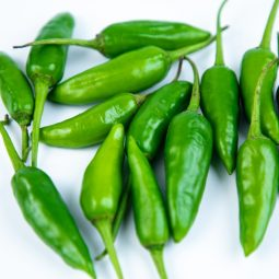 Safe Fresh and Local Green Chillies