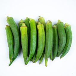 Fresh Safe and Local Okra